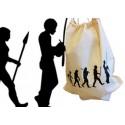 Sac coton   - évolution du capoeiriste