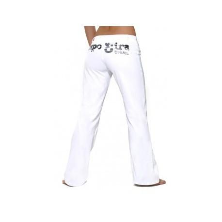 White capoeira pants Capo3ira for women - Mestres Brasil