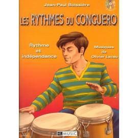 Les rythmes du Conguero - livre + cd percussion