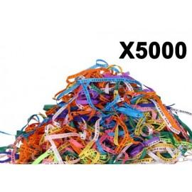 Bracelet porte bonheur fita Senhor da Bonfim par paquets de 5000