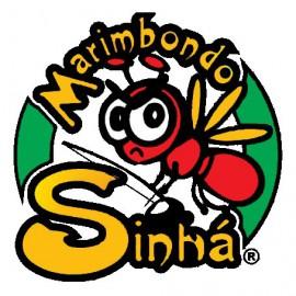 Pantalon de capoeira jaune et noir Ao Contrario Marimbondo Sinha