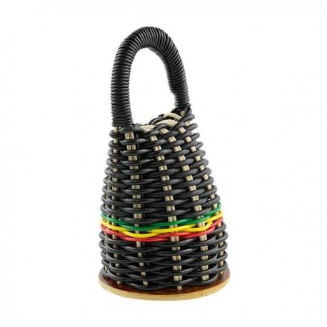 Black afro caxixi capoeira