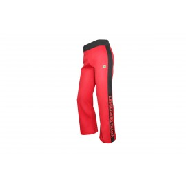 Pantalon de capoeira rouge Mestres Brasil - Me Chama
