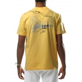 Yellow tee shirt capoeira Pelourinho - Mestres Brasil