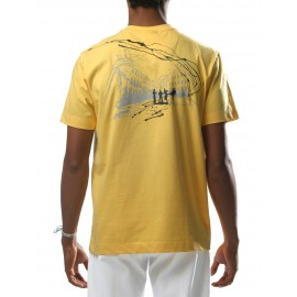 Tee-Shirt Jaune Pelourinho - Mestres Brasil