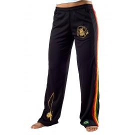 Pantalon de capoeira noir Olodum Femme Besouro Manganga