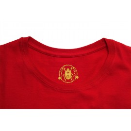 Tshirt de capoeira rouge sans manches Homme Besouro Manganga