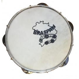 "Pandeiro Braspan 8"" sans housse"