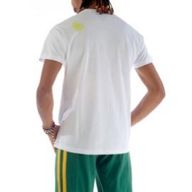 Tee Shirt Blanc de capoeira Besouro Manganga