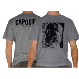 Tshirt de capoeira gris pour homme Bimba