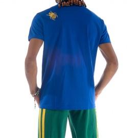 Tee Shirt Jaune de capoeira Besouro Manganga