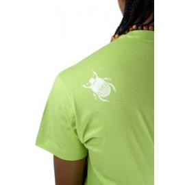 Tee Shirt Vert de capoeira Besouro Manganga