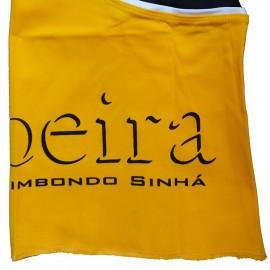 Pantalon de capoeira M.S. Ferradura ao Contrario Jaune et noir