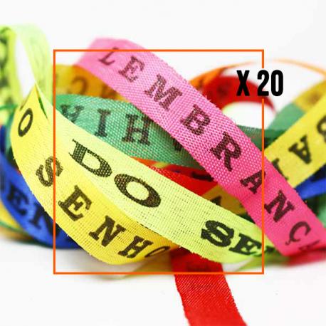 Bracelet Brésilien Fita Senhor do Bonfim - Sachet de 20