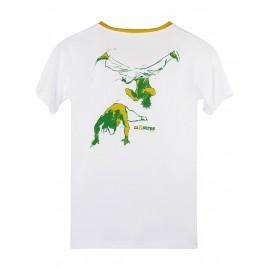 Tshirt Esquiva Blanc  Enfant - Mestres Brasil