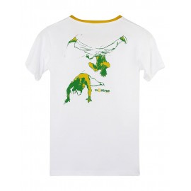 White Esquiva Tshirt for kids