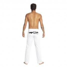 Pantalon de capoeira blanc Capo3ira pour homme - Mestres Brasil