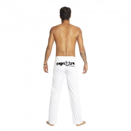 White capoeira pants for men Capo3ira - Mestres Brasil