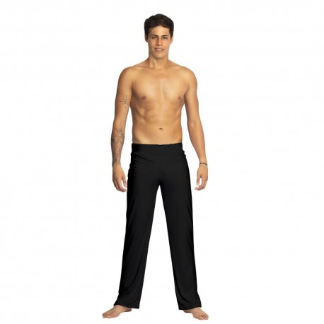 Black capoeira pants for men