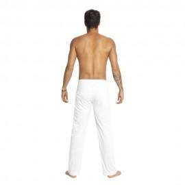 White capoeira pants for men