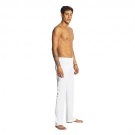 Pantalon de capoeira blanc pour homme Mestres Brasil