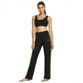 Pantalon de capoeira femme Afro Noir Mestres Brasil