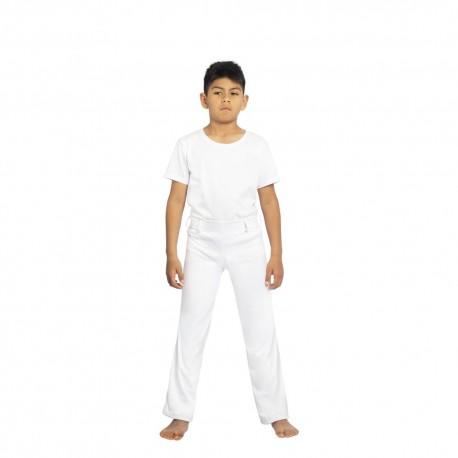 Pantaloni bianchi di capoeira Afro Brasile per bambini - Mestres Brasil