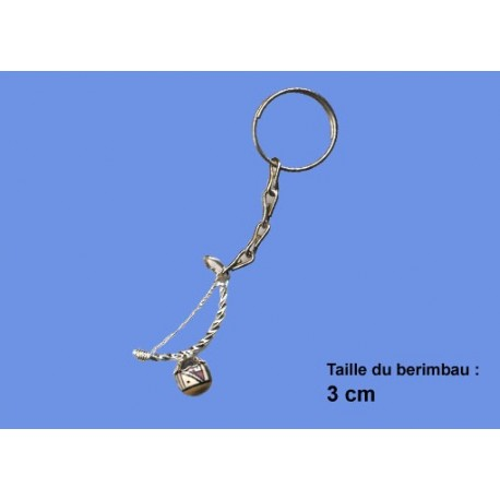Porte clef berimbau perle