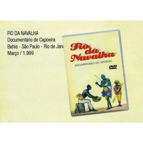 DVD Fio da Navalha-documentario de capoeira