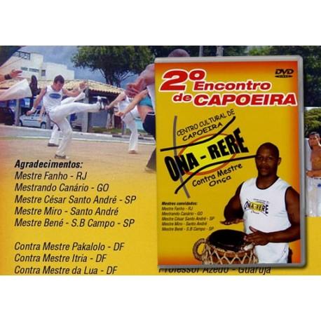 DVD - 2ndo encontro de capoeira Ona-Rere