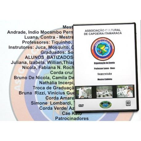 DVD Associaçao Cultural de Capoeira Itamaraca ( Brasil)