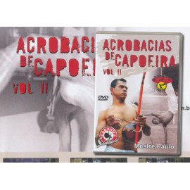 DVD Acrobacias de Capoeira Vol2 - Mestre Paulo