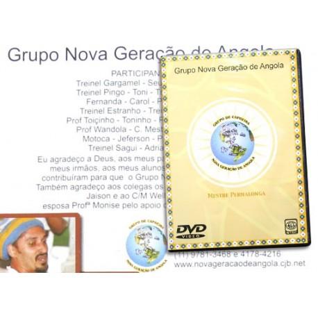 DVD Grupo Nova Geraçao de Angola - Mestre Pernalonga (Brasil)