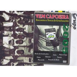 DVD Vem Capoeira 2005