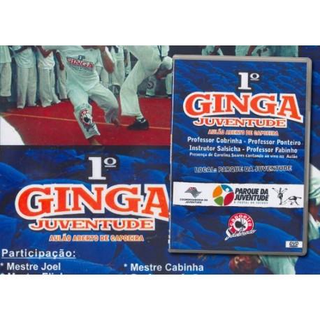 DVD Primeiro Aulao Ginga Juventude