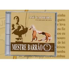 CD - Mestre Barrão - Vol 7- E o som que me leva - Axé Capoeira