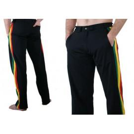 """Pantalon de capoeira Marimbondo Sinha """"Social Afro noir"""""""