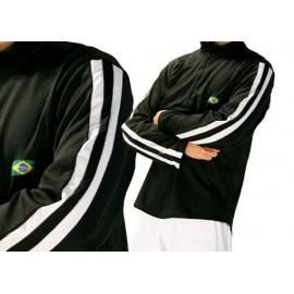 Sweat de capoeira noir et blanc Ligeirinho