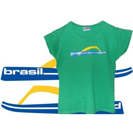 Tshirt Cobracoral Brasil - Tong fille vert