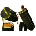 Atabaque bag - 70cm - Black and Yellow