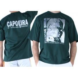 Tshirt de capoeira vert Sdobrado Mestre Bimba