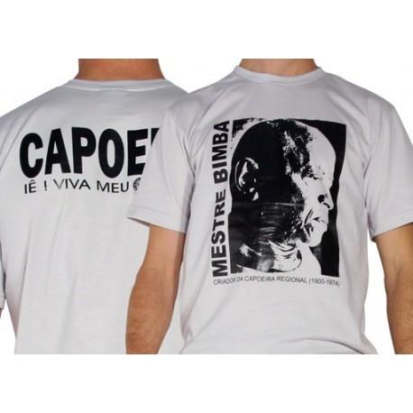 Tshirt de capoeira gris Bimba