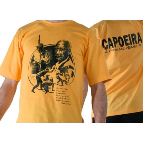 Tshirt de capoeira jaune Sdobrado Pastinha