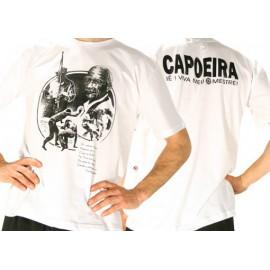 White Pastinha capoeira tshirt