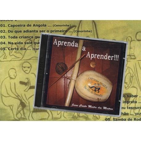 """CD-Aprenda a Aprender- Capoeira Angola """"No fio da Navalha"""""""