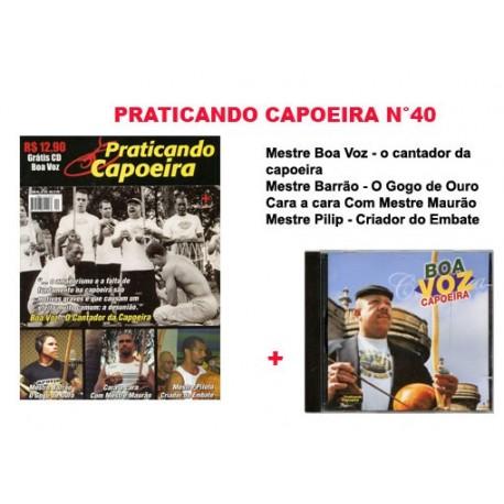 Revue Praticando Capoeira N° 40 + CD