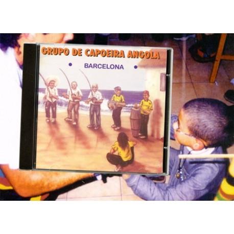 CD Grupo de capoeira angola-Barcelona