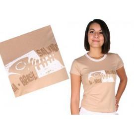 Tshirt Brasil Arte femme- peixe Salvador