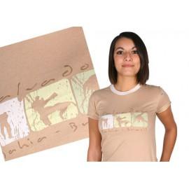 Ideogrammes capoeira tshirt - Brasil Arte
