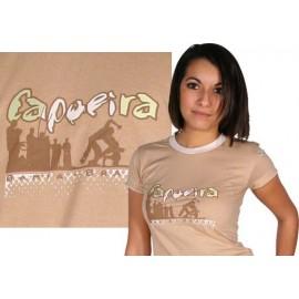 Tshirt Brasil Arte femme- Capoeira roda 2